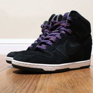 Nike Shoes - Nike Dunk Sky Hi Wedge Sneakers sz 8 Women's